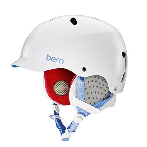 ウォーターヘルメット 安全 マリンスポーツ サーフィン ウェイクボード SW05E17SWT2 Bern Lenox EPS Helmet w/ Grey Liner - Satin Whiteウォーターヘルメット 安全 マリンスポーツ サーフィン ウェイクボード SW05E17SWT2