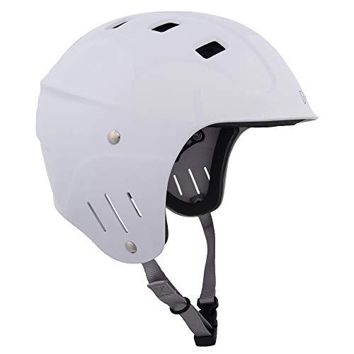 ウォーターヘルメット 安全 マリンスポーツ サーフィン ウェイクボード NRS NRS Chaos Helmet - Full Cut White XLウォーターヘルメット 安全 マリンスポーツ サーフィン ウェイクボード NRS