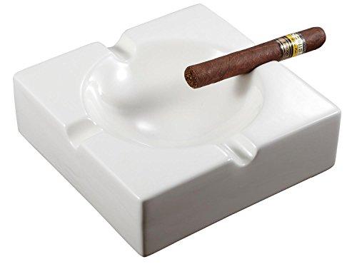 灰皿 海外モデル アメリカ 輸入物 VASH716 Visol Lokken Ceramic Patio Cigar Ashtray, White灰皿 海外モデル アメリカ 輸入物 VASH716