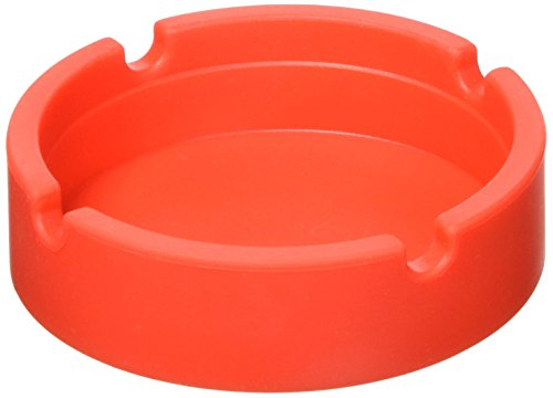 灰皿 海外モデル アメリカ 輸入物 FBA_LTH-A8211-C16-6PCS INNOLIFE - Eco-Friendly Colorfull Premium Silicone Rubber High Temperature Heat Resistant Round Design Ashtray (Red)灰皿 海外モデル アメリカ 輸入物 FBA_LTH-A8211-C16-6PCS