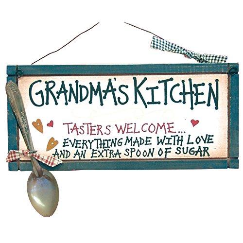 壁飾り インテリア タペストリー 壁掛けオブジェ 海外デザイン 22911 【送料無料】Ohio Wholesale Grandma's Kitchen Sign from Our Grandparents Collection壁飾り インテリア タペストリー 壁掛けオブジェ 海外デザイン 22911