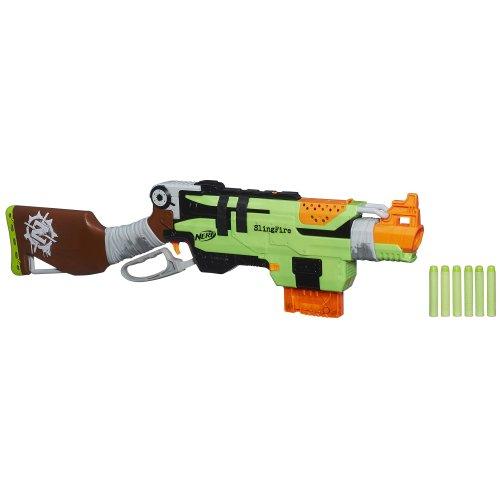 ナーフ ゾンビストライク アメリカ 直輸入 ソフトダーツ A6563 【送料無料】Nerf Zombie Strike SlingFire Blasterナーフ ゾンビストライク アメリカ 直輸入 ソフトダーツ A6563