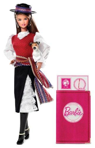 バービー バービー人形 ドールオブザワールド ドールズオブザワールド ワールドシリーズ W3494 【送料無料】Barbie Collector Dolls of the World: Chile Dollバービー バービー人形 ドールオブザワールド ドールズオブザワールド ワールドシリーズ W3494