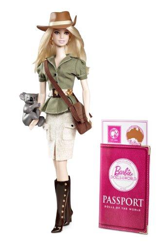 バービー バービー人形 ドールオブザワールド ドールズオブザワールド ワールドシリーズ W3321 Barbie Collector Dolls of the World Australiaバービー バービー人形 ドールオブザワールド ドールズオブザワールド ワールドシリーズ W3321