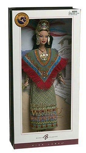 バービー バービー人形 ドールオブザワールド ドールズオブザワールド ワールドシリーズ Barbie Collector - Dolls of The World - Princess of Ancient Mexico Barbieバービー バービー人形 ドールオブザワールド ドールズオブザワールド ワールドシリーズ