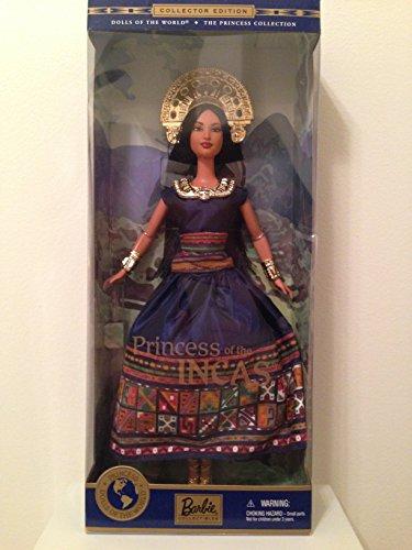 バービー バービー人形 ドールオブザワールド ドールズオブザワールド ワールドシリーズ 074299283734 Mattel Barbie - Princess of The Incas - Dolls of The Worldバービー バービー人形 ドールオブザワールド ドールズオブザワールド ワールドシリーズ 074299283734