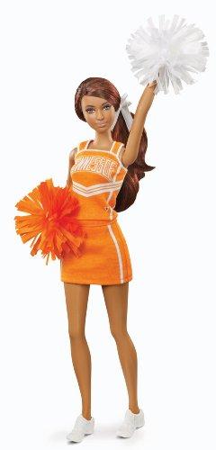 バービー バービー人形 大学 大学生 チアリーダー X9204 Barbie Collector University of Tennessee African-American Dollバービー バービー人形 大学 大学生 チアリーダー X9204