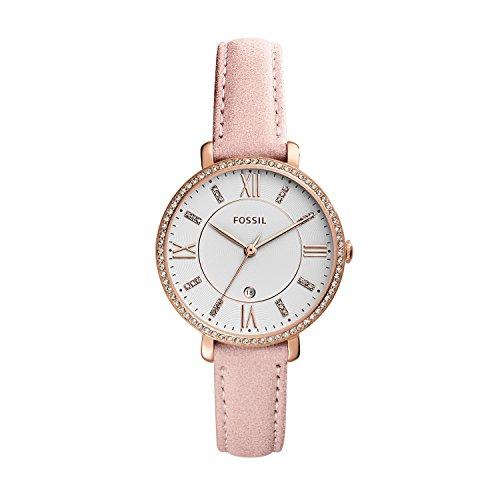 フォッシル 腕時計 メンズ ES4303 Fossil Jacqueline Three-Hand Date Blush Leather Watchフォッシル 腕時計 メンズ ES4303