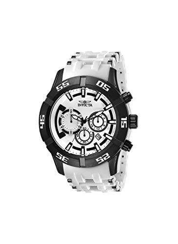 インヴィクタ インビクタ シースパイダー 腕時計 メンズ Invicta 26537 Men's Sea Spider Quartz White Dial Chronograph Watchインヴィクタ インビクタ シースパイダー 腕時計 メンズ