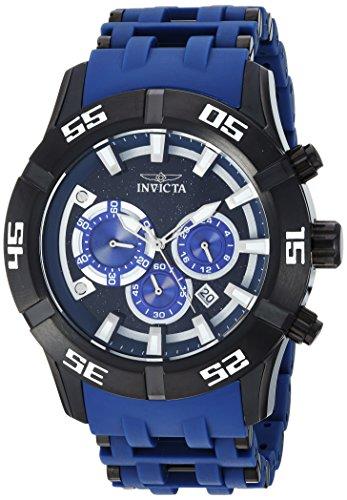 インヴィクタ インビクタ シースパイダー 腕時計 メンズ 26533 【送料無料】Invicta Men's Sea Spider Stainless Steel Quartz Watch with Polyurethane Strap, Blue, 26 (Model: 26533)インヴィクタ インビクタ シースパイダー 腕時計 メンズ 26533
