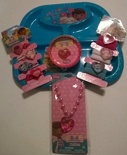 ドックはおもちゃドクター ディズニーチャンネル ドックのおもちゃびょういん Doc McStuffins Jewelry Set: 3 Bracelets, 1 Necklace, 2 Hair Bands, 1 Plateドックはおもちゃドクター ディズニーチャンネル ドックのおもちゃびょういん