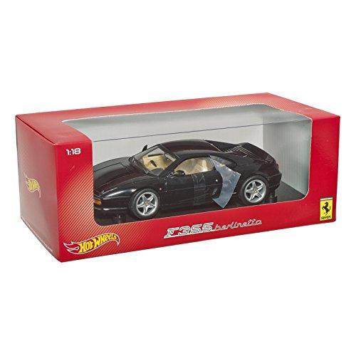 ホットウィール マテル ミニカー ホットウイール BLY58 Hotwheels 1:18 Scale Heritage Collection F355 Berlinetta (Black)ホットウィール マテル ミニカー ホットウイール BLY58