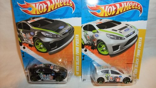 ホットウィール マテル ミニカー ホットウイール MATTEL HOT WHEELS 2011 NEW MODELS EDITION '11 KEN BLOCK FORD FIESTA BLACK EDITION AND NEW WHITE EDITON SET, KEN BLOCK WHITE FORD FIESTA AND BLACK FIESTA KEN Bホットウィール マテル ミニカー ホットウイール