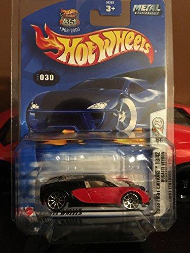 ホットウィール マテル ミニカー ホットウイール 【送料無料】Bugatti Veyron Hot Wheels 2003 First Editions Series 18/42 1:64 Scale Collectible Die Cast Car Model No.30ホットウィール マテル ミニカー ホットウイール