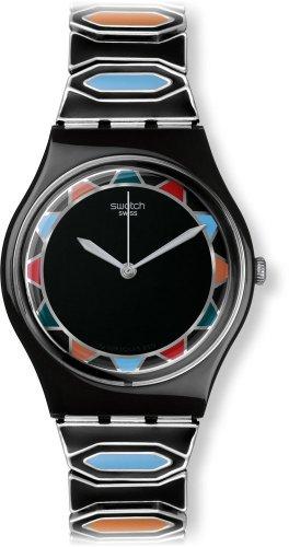 スウォッチ 腕時計 レディース GB282A Swatch Originals Zainab Black Dial Stainless Steel Unisex Watch GB282Aスウォッチ 腕時計 レディース GB282A