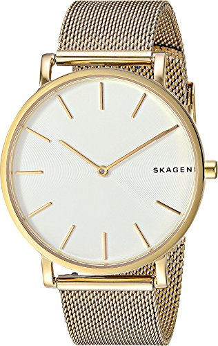 スカーゲン 腕時計 メンズ SKW6443 Skagen Men's Hagen Japanese-Quartz Watch with Stainless-Steel Strap, Gold, 18 (Model: SKW6443)スカーゲン 腕時計 メンズ SKW6443