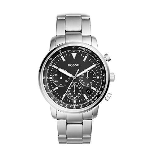 フォッシル 腕時計 メンズ FS5412 【送料無料】Fossil Men's Goodwin Quartz Watch with Stainless-Steel Strap, Silver, 10 (Model: FS5412)フォッシル 腕時計 メンズ FS5412