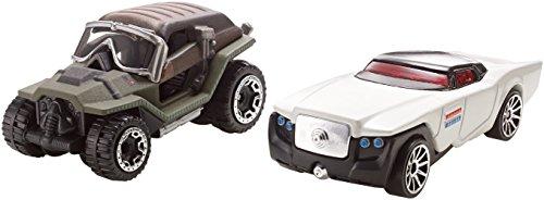 ホットウィール マテル ミニカー ホットウイール FCD90 Hot Wheels Star Wars Car Jyn Erso Vs. Director Krennic, 2-Packホットウィール マテル ミニカー ホットウイール FCD90