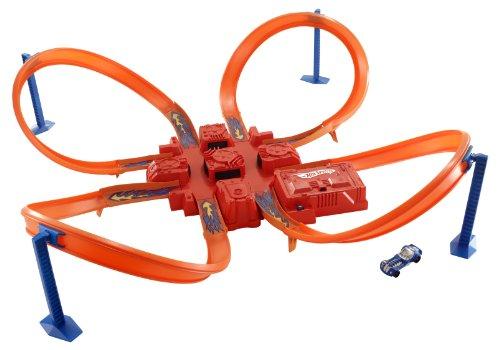 ホットウィール マテル ミニカー ホットウイール V2791 【送料無料】Hot Wheels Criss Cross Crash Track Setホットウィール マテル ミニカー ホットウイール V2791