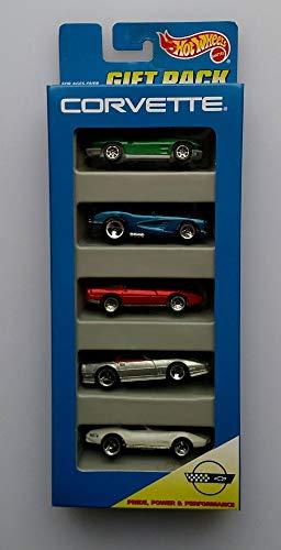 ホットウィール マテル ミニカー ホットウイール 【送料無料】Hot Wheels Corvette Gift Pack 5 Packホットウィール マテル ミニカー ホットウイール