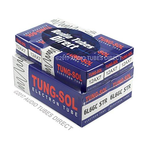 真空管 ギター・ベース アンプ 海外 輸入 6L6GCSTR 12AX7 Tung-Sol Tube Upgrade Kit For Mesa Boogie MMIC 60 Reverb Amps 6L6GCSTR 12AX7真空管 ギター・ベース アンプ 海外 輸入 6L6GCSTR 12AX7
