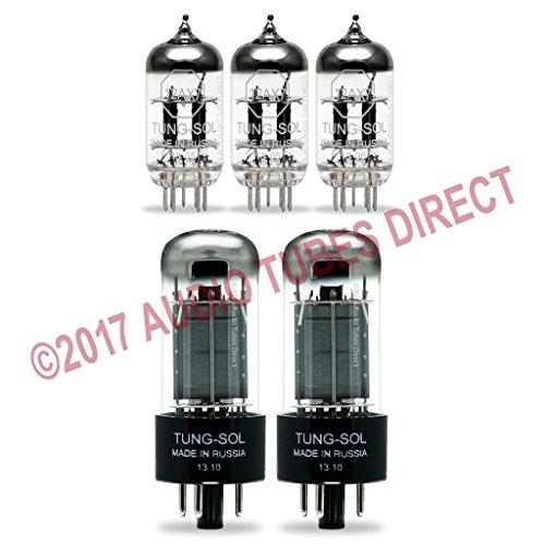 真空管 ギター・ベース アンプ 海外 輸入 6V6GT 12AX7 Tung-sol Tube Upgrade Kit for Rivera Venus Deux Amps 6V6GT 12AX7真空管 ギター・ベース アンプ 海外 輸入 6V6GT 12AX7