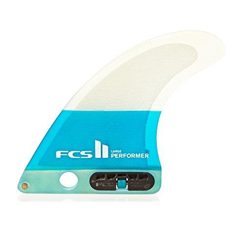 サーフィン フィン マリンスポーツ 【送料無料】FCS II Performer Performance Core Single Fin Medium Tealサーフィン フィン マリンスポーツ
