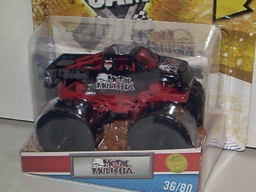 ホットウィール マテル ミニカー ホットウイール 【送料無料】Hot Wheels 2011 Monster Jam 1ST Edition #36/80 Metal Mulisha 1:64 Scale Collectible Truck with Monster Jam Tattooホットウィール マテル ミニカー ホットウイール