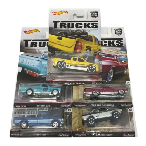 ホットウィール マテル ミニカー ホットウイール Hot Wheels 2016 Car Culture Trucks C Case Set of 5 Cars DJF77-956Cホットウィール マテル ミニカー ホットウイール