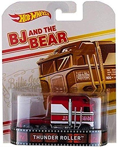 ホットウィール マテル ミニカー ホットウイール 【送料無料】Hot Wheels Retro Entertainment BJ and the Bear Thunder Roller Vehicle NIPホットウィール マテル ミニカー ホットウイール