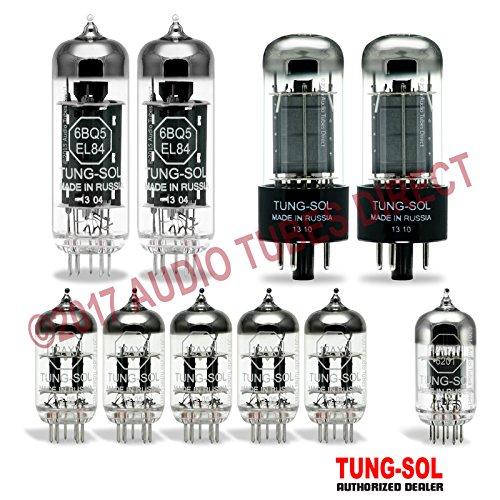 真空管 ギター・ベース アンプ 海外 輸入 EL84/6V6GT/12AX7/12AT7 Tung-Sol Tube Upgrade Kit For Musitech Stereo 215 Amps EL84 6V6GT 12AX7 12AT7真空管 ギター・ベース アンプ 海外 輸入 EL84/6V6GT/12AX7/12AT7
