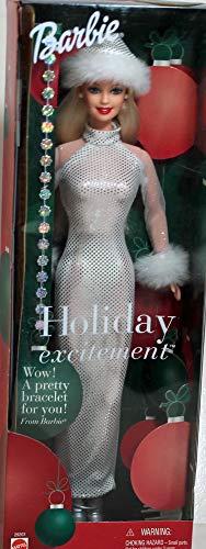 バービー バービー人形 日本未発売 ホリデーバービー 29203 【送料無料】Barbie Holiday Excitement Doll with a Bracelet for Youバービー バービー人形 日本未発売 ホリデーバービー 29203