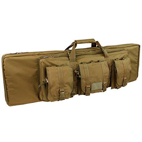 ミリタリーバックパック タクティカルバックパック サバイバルゲーム サバゲー アメリカ 151-498 Condor 151-498 Double Rifle Case, Coyote Brown, 36