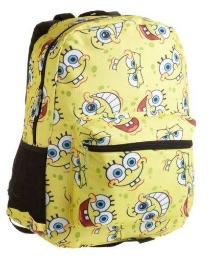 スポンジボブ バッグ バックパック リュックサック カートゥーンネットワーク New Arrival Combo Deal - SpongeBob Colorful Print Young by Backpackスポンジボブ バッグ バックパック リュックサック カートゥーンネットワーク