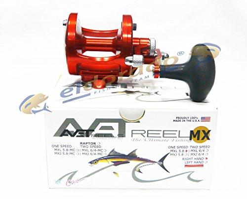 リール AVET 釣り道具 フィッシング MXL5.8RH-RD Avet 1 Speed Reel, Red, Rightリール AVET 釣り道具 フィッシング MXL5.8RH-RD