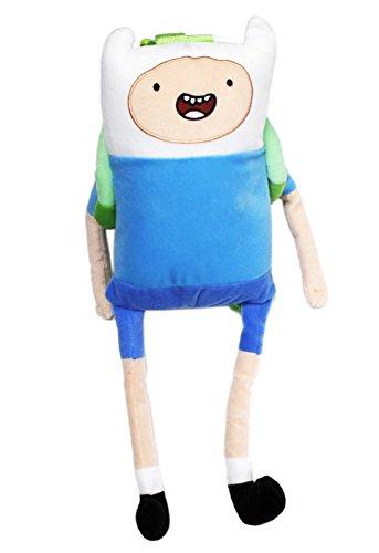 アドベンチャータイム バッグ バックパック リュックサック カートゥーンネットワーク Adventure Time Finn the Human Kids Plush Backpack (18in)アドベンチャータイム バッグ バックパック リュックサック カートゥーンネットワーク