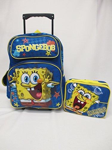 スポンジボブ バッグ バックパック リュックサック カートゥーンネットワーク Disney Princess Large School Rolling Backpack 16