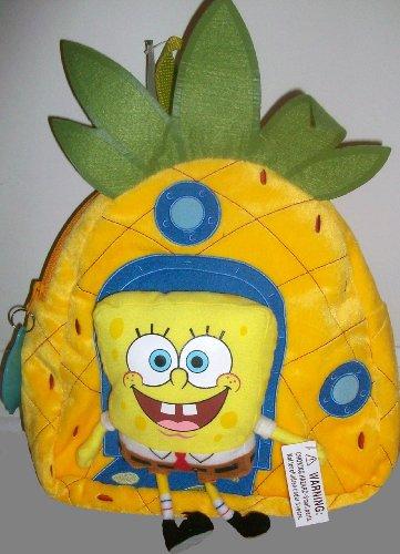 スポンジボブ バッグ バックパック リュックサック カートゥーンネットワーク Spongebob Squarepants, Plush 16