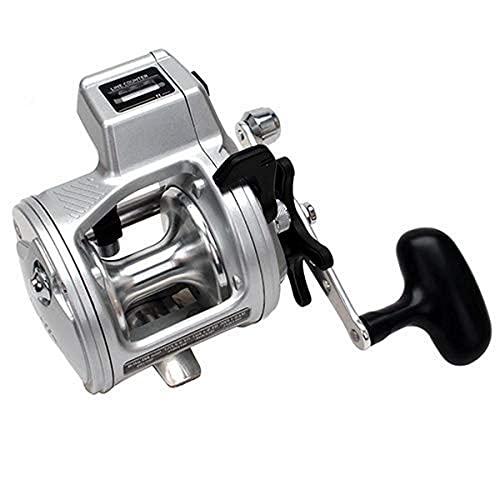 リール Daiwa ダイワ 釣り道具 フィッシング ADP47LCB Daiwa Accudepth Plus-B Line Counter Levelwind Fishing Reel (Silver, 47)リール Daiwa ダイワ 釣り道具 フィッシング ADP47LCB