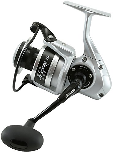 リール Okuma オクマ 釣り道具 フィッシング Z-40S, 175 yds, 12LB Okuma Azores Spinning Reel, 40, 5.8:1 Gear Ratio, 5BB + 1RB Bearings, 28 lb Max Drag, Right Handリール Okuma オクマ 釣り道具 フィッシング Z-40S, 175 yds, 12LB