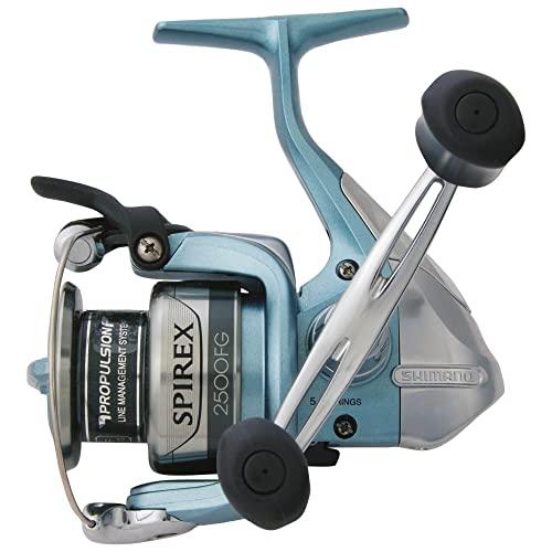 リール Shimano シマノ 釣り道具 フィッシング SR1000FG Shimano Spirex FG Spinning Reel (6.2:1), Medium Light, 4 Pounds/140 Yardsリール Shimano シマノ 釣り道具 フィッシング SR1000FG