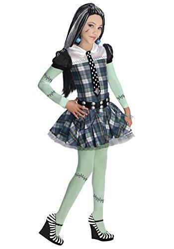 モンスターハイ 衣装 コスチューム コスプレ RU884786SM 【送料無料】Girls Mh Frankie Stein Kids Child Fancy Dress Party Halloween Costume, S (4-6)モンスターハイ 衣装 コスチューム コスプレ RU884786SM