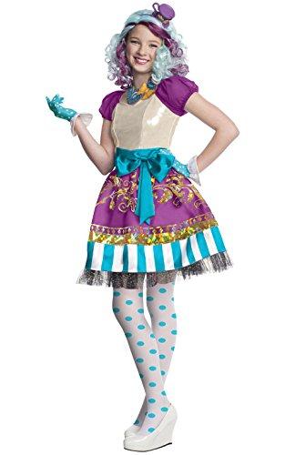 モンスターハイ 衣装 コスチューム コスプレ 884911_L Rubies Ever After High Child Madeline Hatter Costume, Child Largeモンスターハイ 衣装 コスチューム コスプレ 884911_L