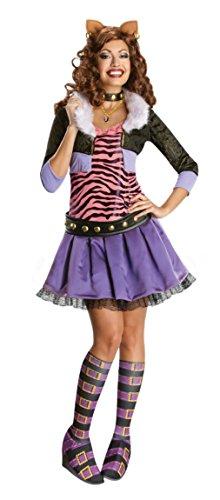 モンスターハイ 衣装 コスチューム コスプレ 880702MD Rubies Womens Halloween Costume Monster High Clawdeen Wolf Party Fancy Dress, M (8-10)モンスターハイ 衣装 コスチューム コスプレ 880702MD