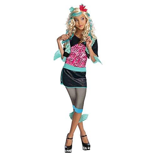 モンスターハイ 衣装 コスチューム コスプレ 【送料無料】Rubie's Monster High Lagoona Blue Costume - Costume Ideas, Multi-colored, Smallモンスターハイ 衣装 コスチューム コスプレ