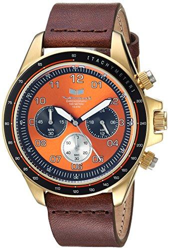 ベスタル ヴェスタル 腕時計 レディース ZR243L22.BR 【送料無料】Vestal ZR2 Leather Stainless Steel Japanese-Quartz Watch Strap, Brown, 20 (Model: ZR243L22.BR)ベスタル ヴェスタル 腕時計 レディース ZR243L22.BR