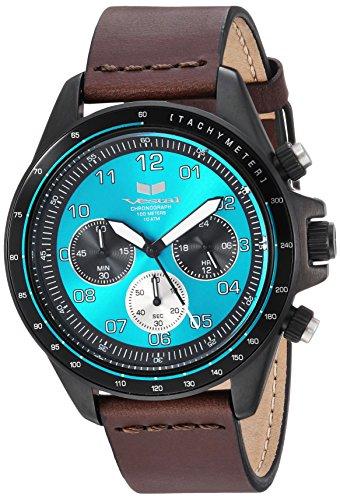 ベスタル ヴェスタル 腕時計 レディース ZR243L26.DB Vestal ZR2 Leather Stainless Steel Japanese-Quartz Watch Strap, Brown, 20 (Model: ZR243L26.DBベスタル ヴェスタル 腕時計 レディース ZR243L26.DB