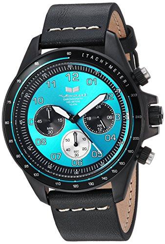 ベスタル ヴェスタル 腕時計 レディース ZR243L26.BKWH 【送料無料】Vestal ZR2 Leather Stainless Steel Japanese-Quartz Watch Strap, Black, 20 (Model: ZR243L26.BKWH)ベスタル ヴェスタル 腕時計 レディース ZR243L26.BKWH