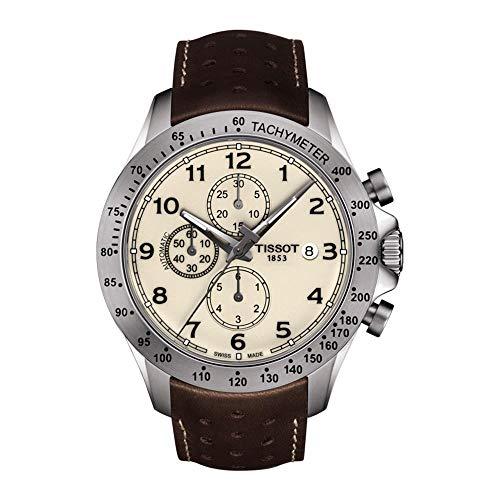 ティソ 腕時計 メンズ 【送料無料】Tissot V8 Chronograph Automatic Cream Dial Men's Watch T106.427.16.262.00ティソ 腕時計 メンズ