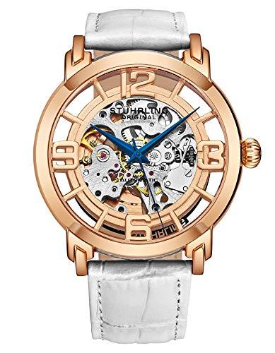 ストゥーリングオリジナル 腕時計 メンズ 165B2B.33112 Stuhrling Original Men's 165B2.334P14 Winchester 44 Date White Leather Watchストゥーリングオリジナル 腕時計 メンズ 165B2B.33112